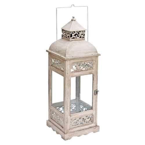 +MOR310 Almeria Lantern Cream 58cm