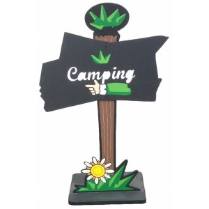 +FES201 Camping Sign