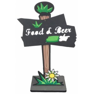 +FES202 Food and beer sign