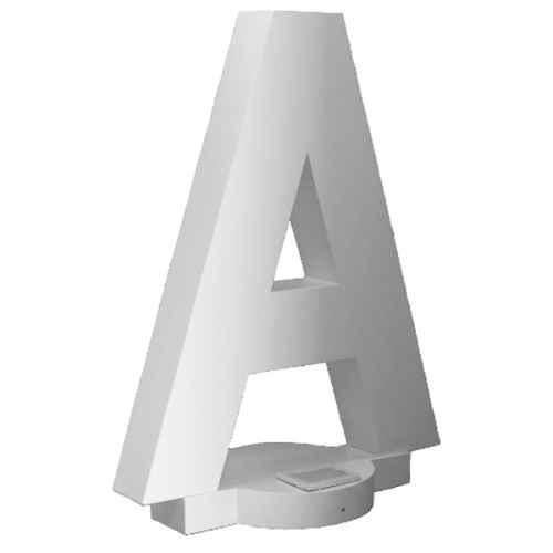 +LET001A Giant Letter A