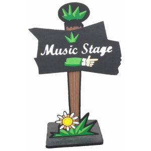 +FES200 Music stage sign