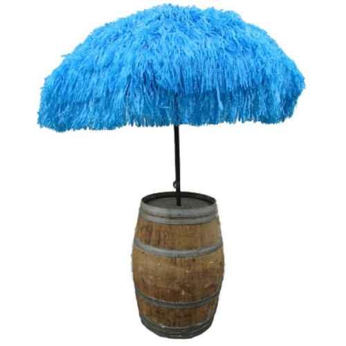 +CAR201B Parasol in Blue with Barrel
