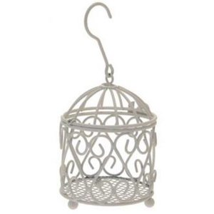 +CAN053 Bird Cage Candle holder