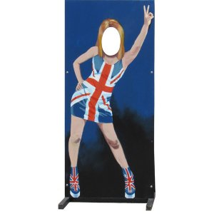 +NIN100 Ginger Spice Girl flat web