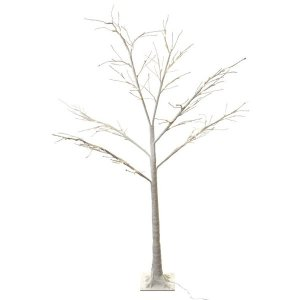 +CHR319J Snowy White Tree with LED 1