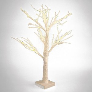 +CHR312H Snowy Tree with battery LED