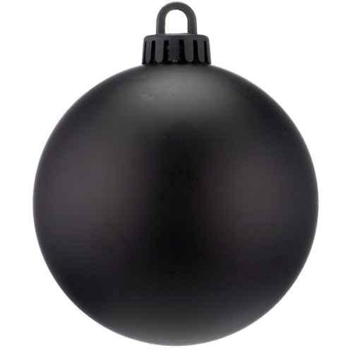 +CHR335XBL.M Black Bauble Shiney
