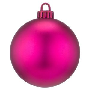 +CHR335XP.M Pink Bauble matt