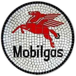 +GRP224 Mobilgas Mosaic Wallmount