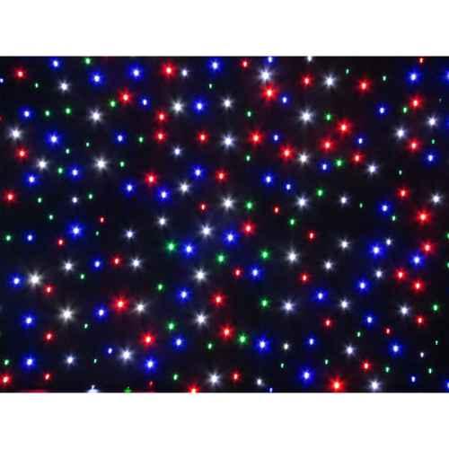 +STA011 RGBW Starcloth Curtain