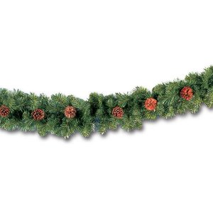 +CHR306A.1 Rocky Pine Garland with Cones 2
