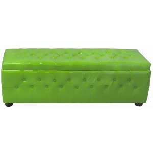 FUR450LG Chesterfield Banquette Lime Green