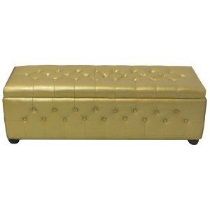 FUR450G Chesterfield Banquette Gold