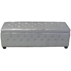 FUR450S Chesterfield Banquette Silver