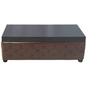 FUR041BR Chesterfield Table Brown