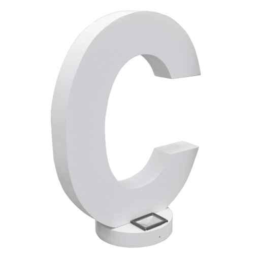 +LET001C Giant Letter C