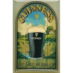 +IRE116 Antique Metal Guiness Sign