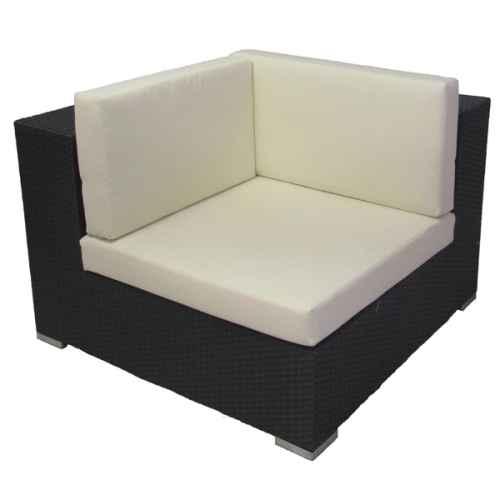 +FUR431 Rattan Left Hand Corner Sofa section