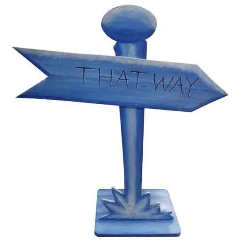 +ALI256 That Way sign