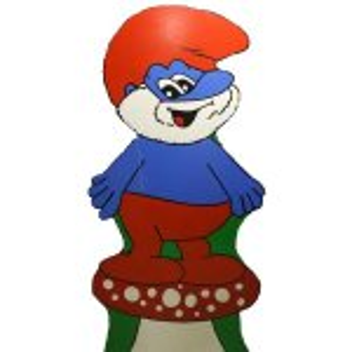 +CHD108 Papa Smurf Flat