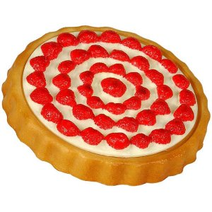 CAT266 Strawberry flan