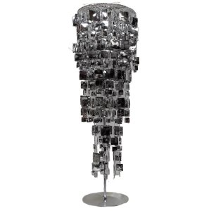 +CHA100 Mirrored Table Chandelier