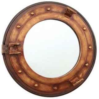+TIT205 Bronze Titanic Ship Porthole