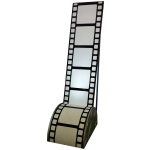 +HOL202 Film Strip on Reel plinth