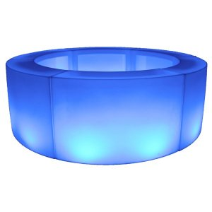 +BAR107 Circular Bar in blue