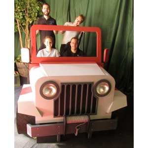 Jeep for photos