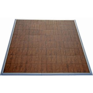 Oak effect dancefloor