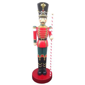 +CHR226.2 Toy Soldier with Striped Baton