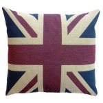 +FUR658.1 Linen Union Jack Cushion