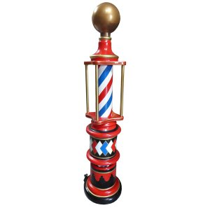 +PRO210 Victorian Barber Pole with light
