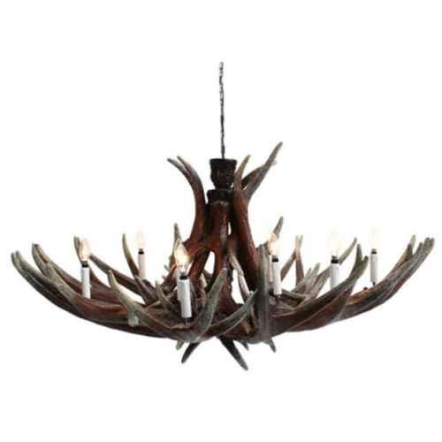 CHA016 Antler Horn Chandelier 10 lamp