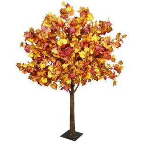 PLA643 Autumn foliage table top tree