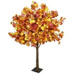 Autumn foliage table top tree