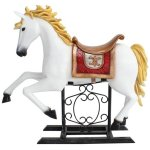 +CIR203 Carousel Horse on Stand