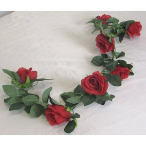 PLA063R.1 Rose Garland Red 0