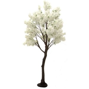 PLA612 Standard Tree with Cream Cherry Blossom Branches