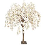 Cream hanging cherry tabletop tree web