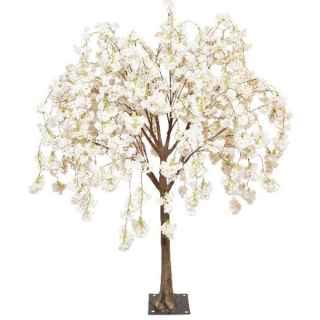 Cream hanging cherry tabletop tree web