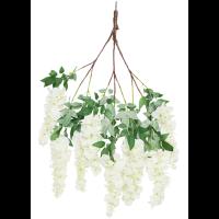 Cream short wisteria branch web