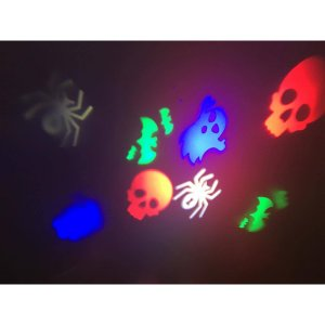+HAL400 Halloween spooky projection