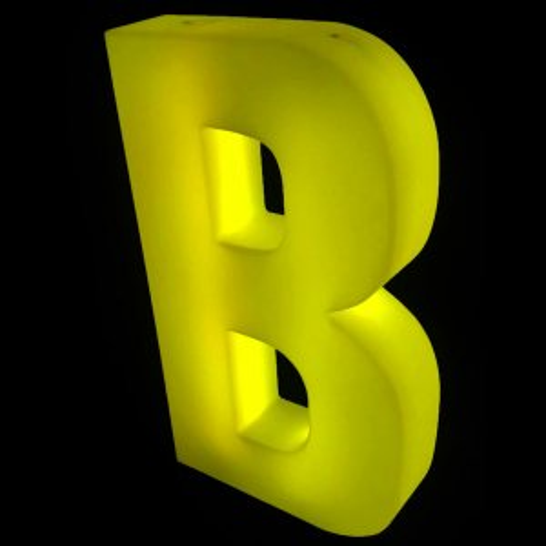 Lumaform letter B