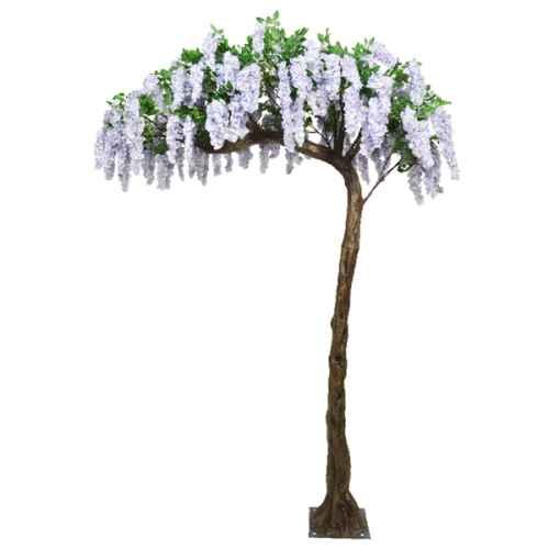 PLA626S Lilac Half Canopy Tree