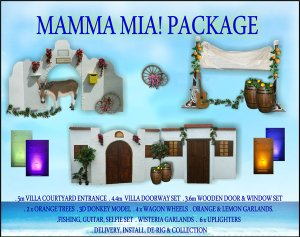Mamma Mia Package pic