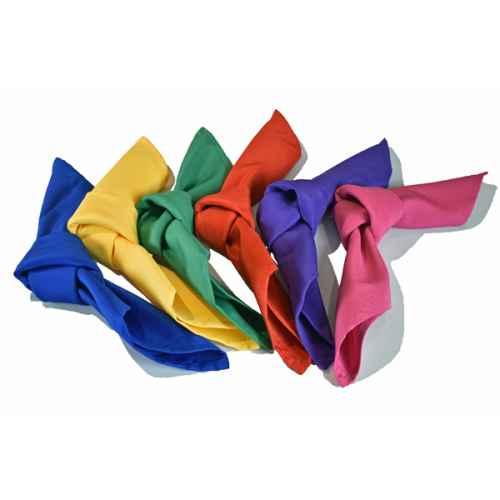 Napkins bright colours