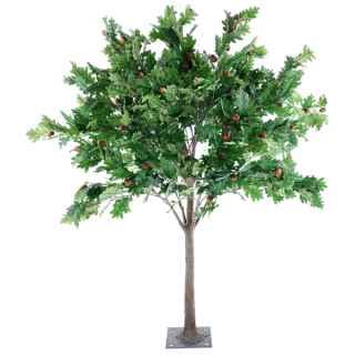 PLA663 Oak leaf table top tree