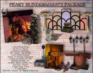 Peaky Blinders Package